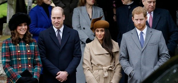 Meghan Markle Christmas.Pics Meghan Markle Joins The Royals For Christmas Service