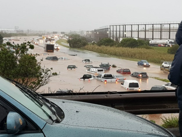 Storm Chaos Durban Under Water Disaster Relief For