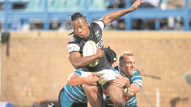 Young S'bu Nkosi is happy with his growth as a player at the Sharks.