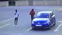 WATCH: Manhunt continues for Welkom hijackers after man shot dead in mall parking lot