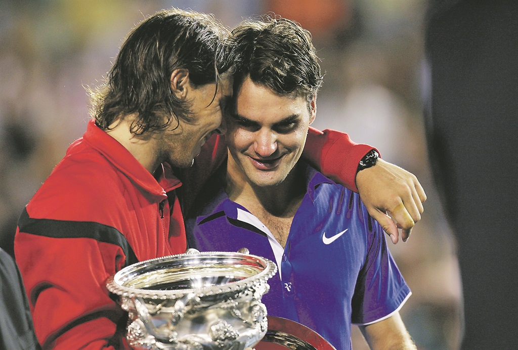 Roger Federer And Rafael Nadal Friendship