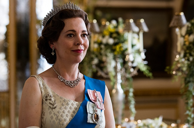 Olivia Colman in 'The Crown.'