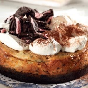 Photo: Baked Oreo cheesecake