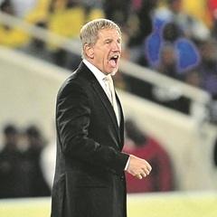 Stuart Baxter has urged Bafana Bafana players to play for the SA flag. (Samuel Shivambu, BackpagePix)