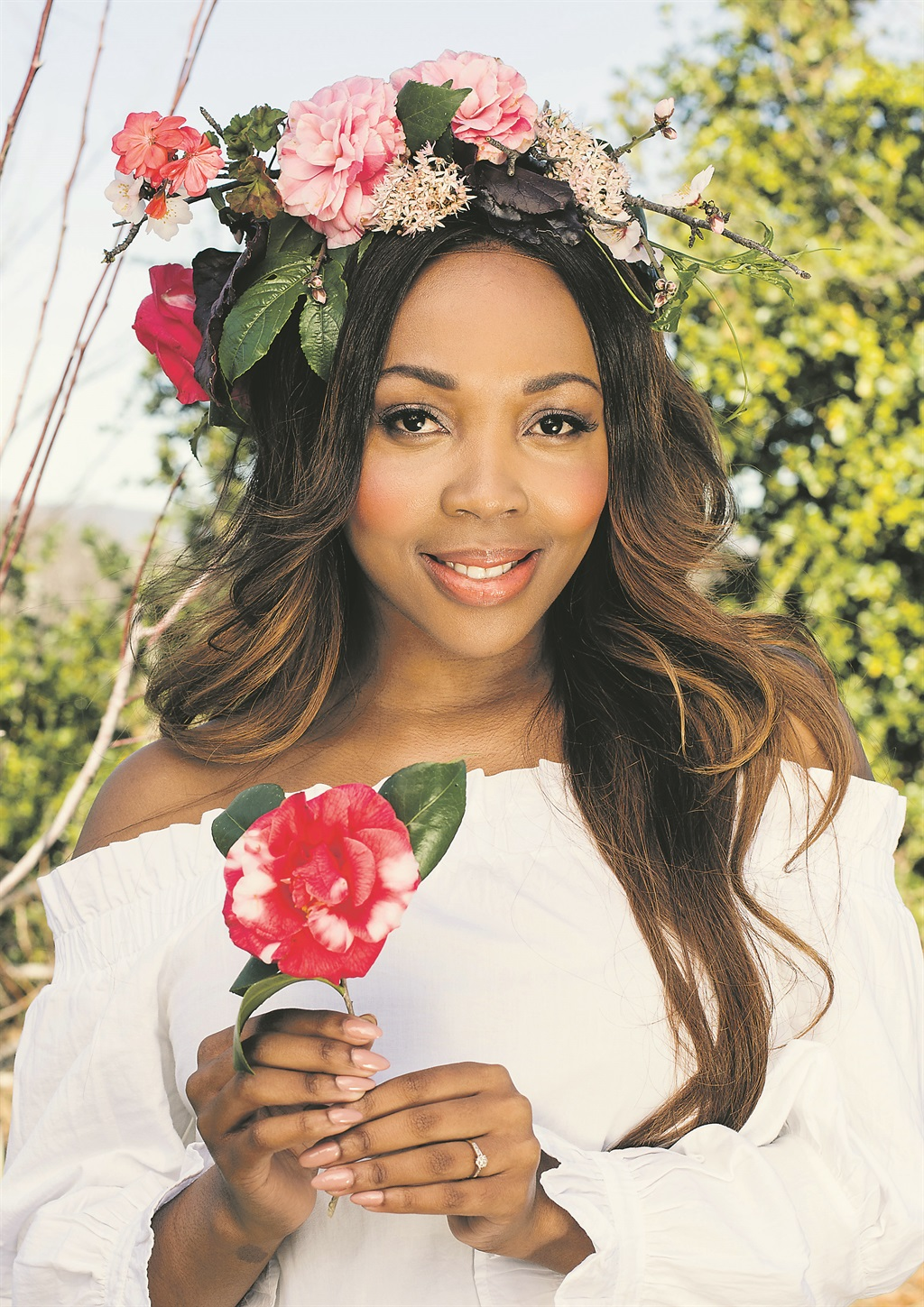 Say It With A Flower Crown This Gardenday