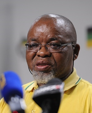 ANC secretary general Gwede Mantashe. (Gallo Images / Netwerk24 / Felix Dlangamandla)