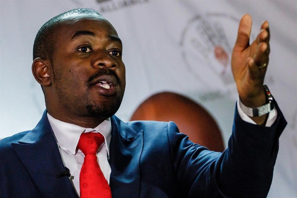 Zimbabwe's opposition MDC backs Chamisa   News24