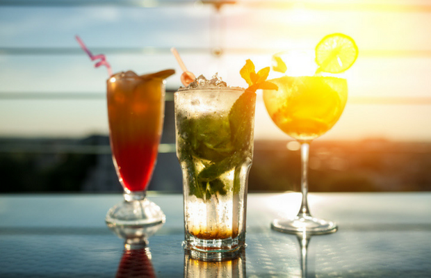 Cocktails contain high sugar content