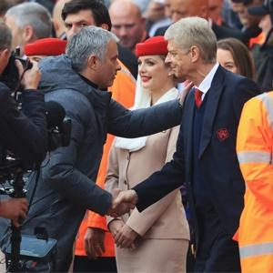 Jose Mourinho and Arsene Wenger (Getty Images)
