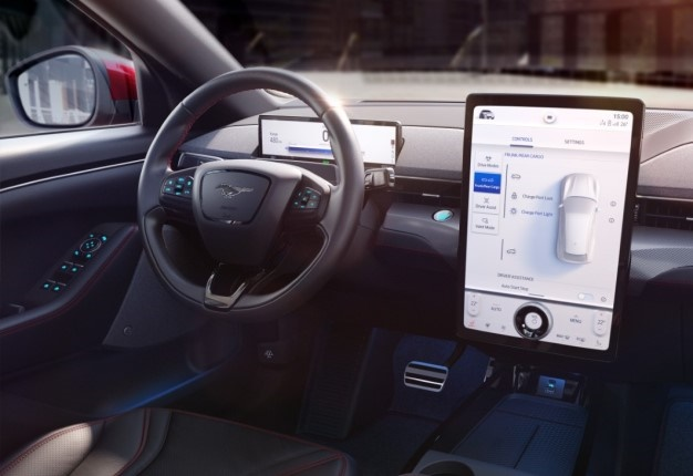 Ford's next-generation Sync. Image: Quickpic