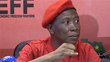 Malema: Zuma should have reshuffled himself