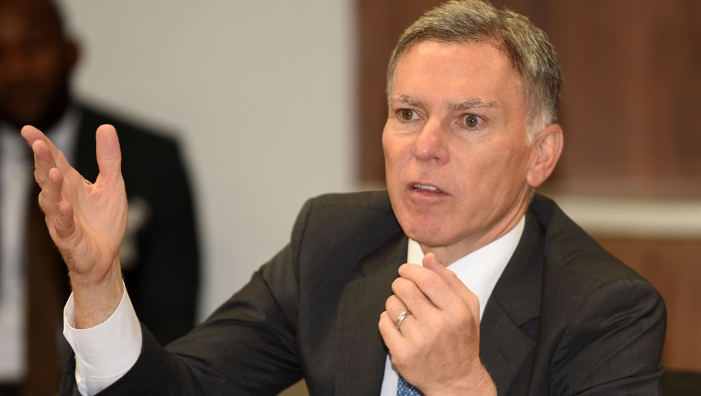 Discovery CEO Adrian Gore during the announcement of Discovery Bank at the group's headquarters on November 14, 2018 in Sandton. According to Gore, the world's first behavioural bank, which is set for official launch in March 2019, will reward customers for their good behaviour, applying a similar strategy to that used by its health-insurance operation. Picture: Freddy Mavunda/Gallo Images