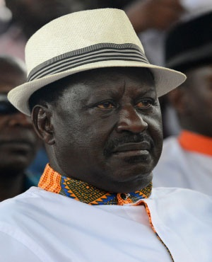 Kenya's opposition leader Raila Odinga. (File: AFP)