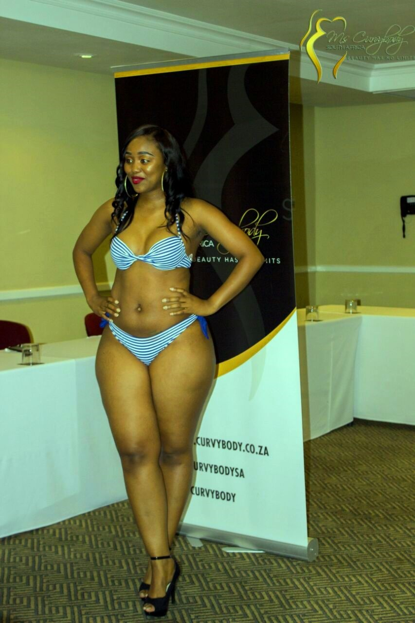 south african woman body