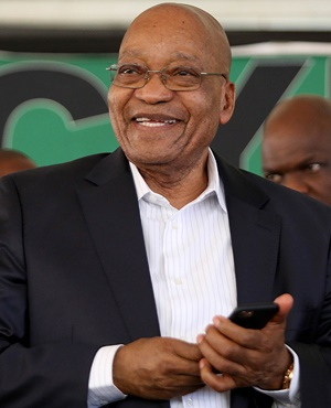 President Jacob Zuma. (Thuli Dlamini, Gallo Images, The Times, file)