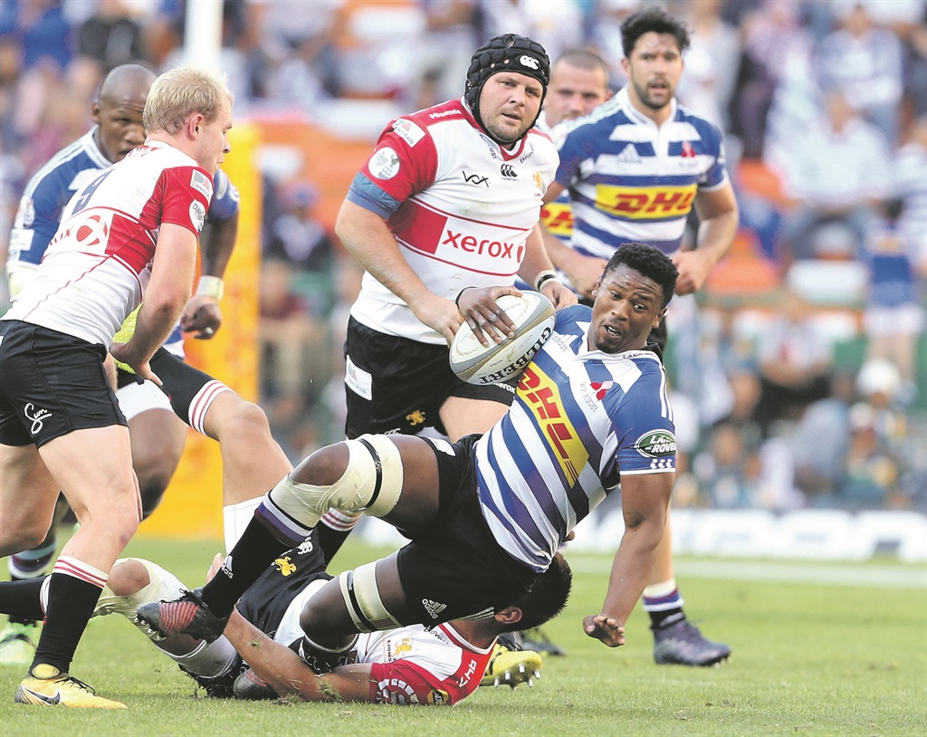Hard landing: Sikhumbuzo Notshe of Western Province during the Currie Cup semifinal match between DHL Western Province and Xerox Golden Lions at DHL Newlands, in Cape Town, on Saturday. Picture: Carl Fourie/ Gallo Images