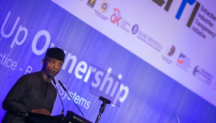 Osinbajo at EITI conference