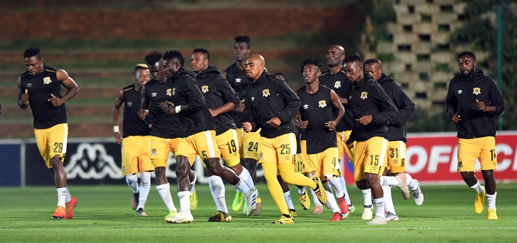 Black Leopards players  during the Absa Premiershi