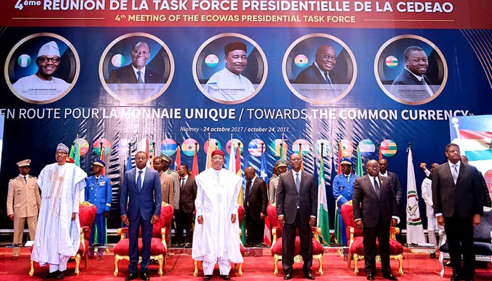 Buhari in Niger Republic for ECOWAS single currenc
