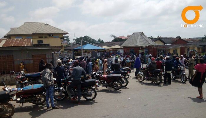 Osogbo Oluode Market Traders involved in truck acc