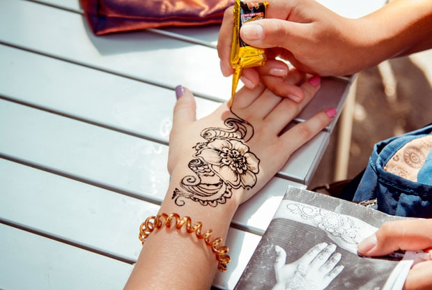 henna,tattoo,allergy