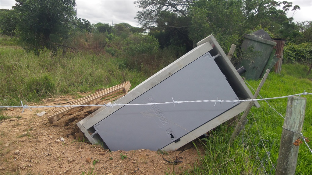 A file photo of one of the toilets built through the Siyenza programme that was damaged following heavy rains in 2015. (Netwerk24)