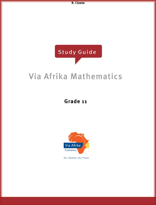 Grade 11: Maths, Maths Lit and Technical Maths practice papers and