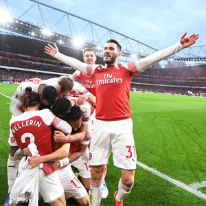 Arsenal celebrate (Getty Images)