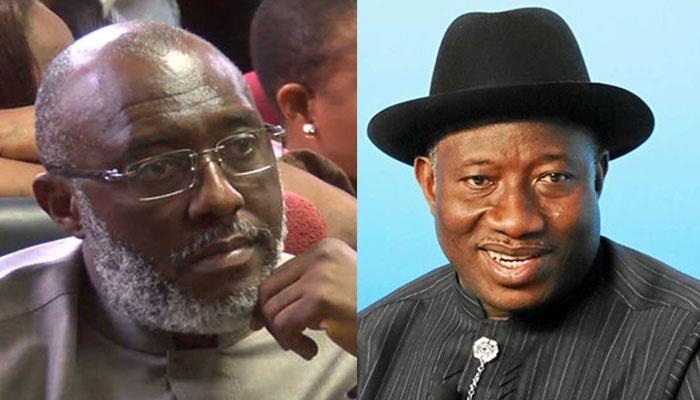 Olisa Metuh and Goodluck Jonathan on 1 billion Nai