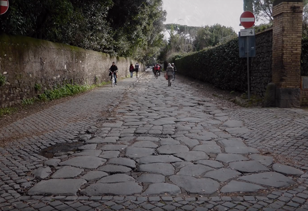pebblestone path