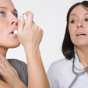 Doctors distinguish between four levels of severity in asthma.