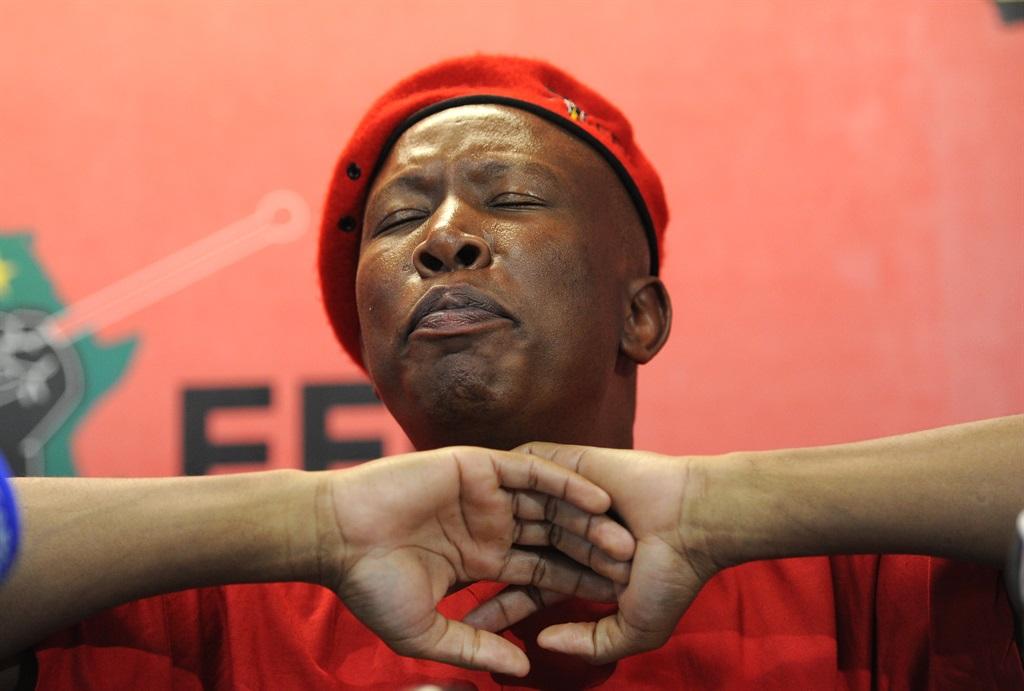 Julius Malema.Picture: Felix Dlangamandla/Netwerk24