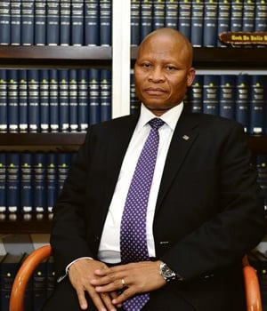 The Chief Justice of South Africa is the most senior judge of the Constitutional Court and head of the judiciary of South Africa Mogoeng Mogoeng. Picture: Lucky Nxumalo