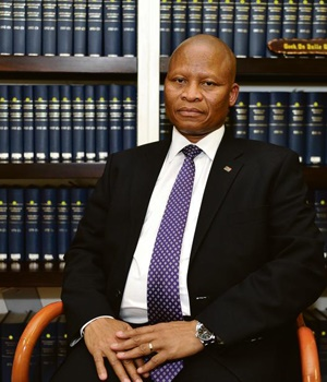 The Chief Justice of South Africa. (Lucky Nxumalo)