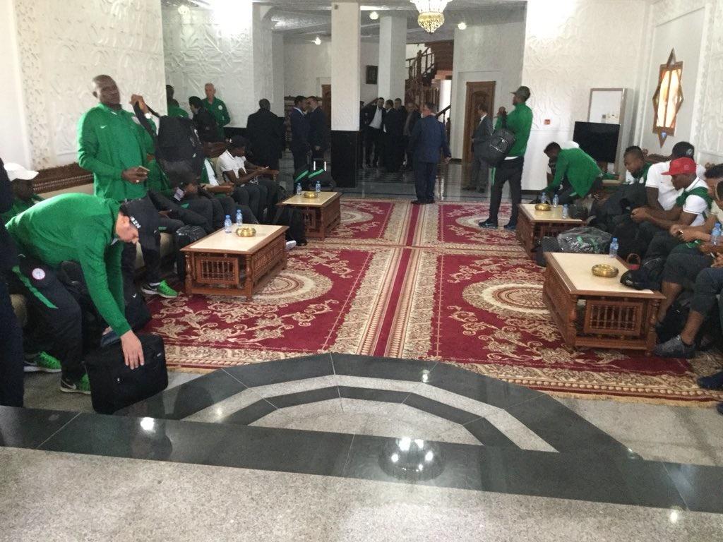 Super Eagles in Algeria