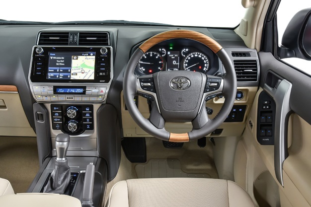 Toyota refreshes land cruiser prado we have prices details of the enhanced suv wheels24 for Texas leather interiors prices