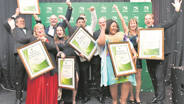 Business of the Year Award winners photographed at a gala dinner event on Friday night at the Royal Showgrounds hosted by the Pietermaritzburg Chamber of Business.
