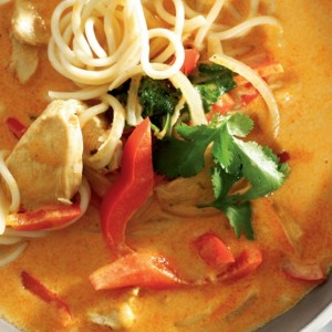 PHOTO: Hearty Asian chicken soup