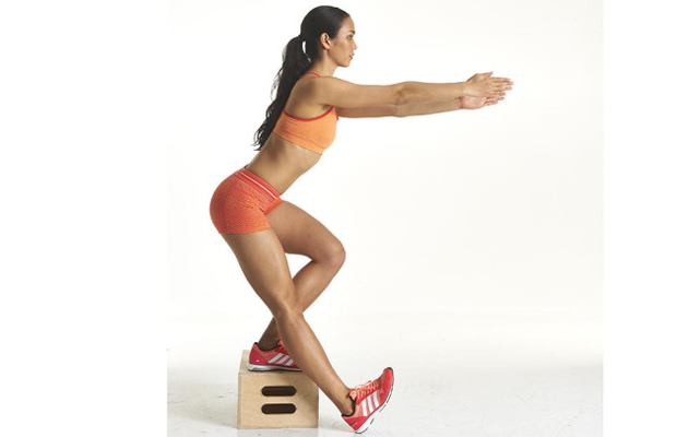 Reverse Step-Ups, exercise, fitness
