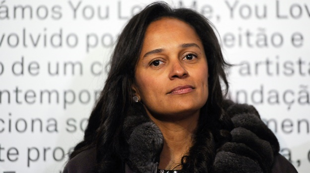 Angolan businesswoman and former chief executive of Angolan state oil firm Sonangol Isabel dos Santos. (Fernando Veludo, AFP)