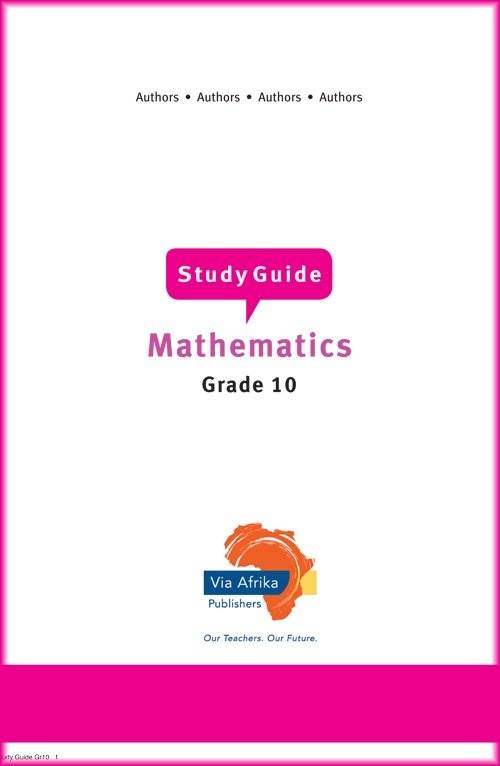 grade 10 maths maths lit practice papers and study guides parent24