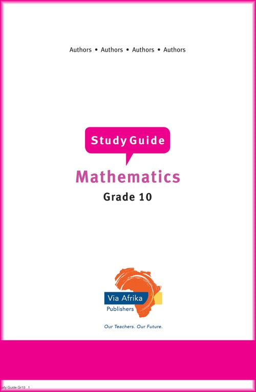 grade 10 mathematics exam papers Paper video offers past exam papers and subject maps with step-by-step video  accounting grade 8 - 12 mathematics grade 8 - 12 life sciences grade 10 -.