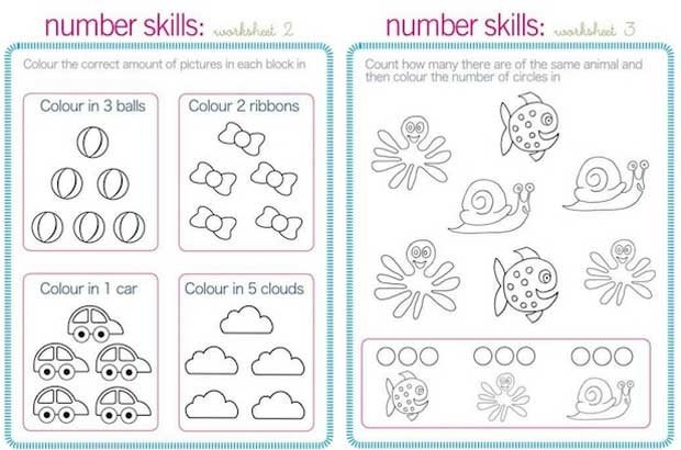 Printable: School readiness work sheets | Parent24
