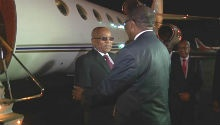 WATCH: Zuma arriving in Angola to discuss Zim crisis
