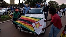 Zimbabwe in pictures: Northern neighbours overjoyed and celebrations are just getting started