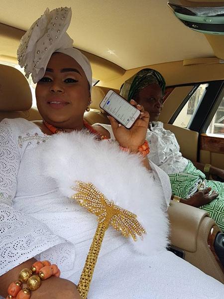 Ayiri Emami Ologbotsere wife.