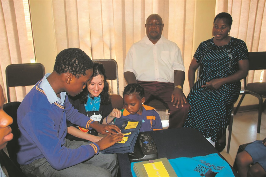 picture books for the blind