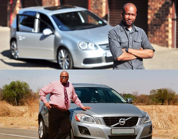 Vonne (top) and Buti (below) both have struggled with their car finance.