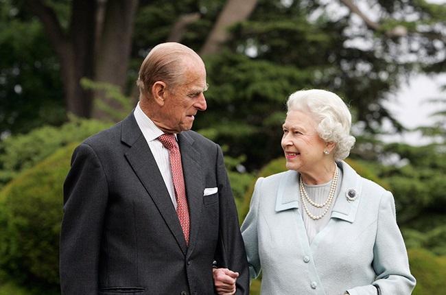 The Queen Elizabeth II and Prince Philip, The Duke of Edinburgh re-visit Broadlands, to mark their Diamond Wedding Anniversary.