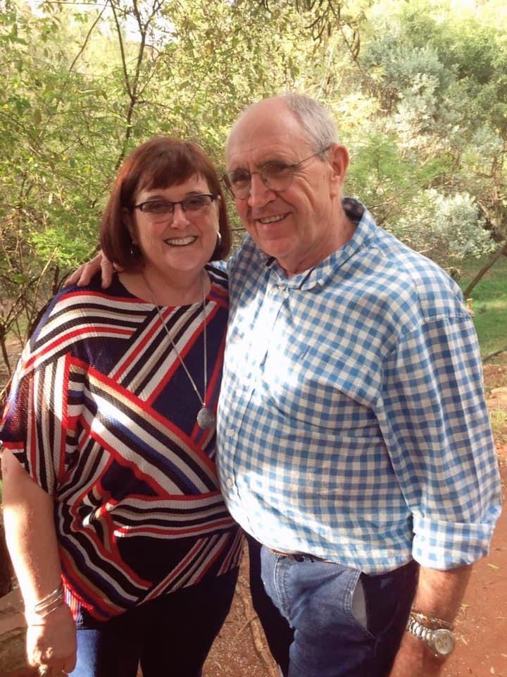 Die vermoorde Hannes en Ibel Beukes van Bethal, Mpumalanga. Foto: Facebook
